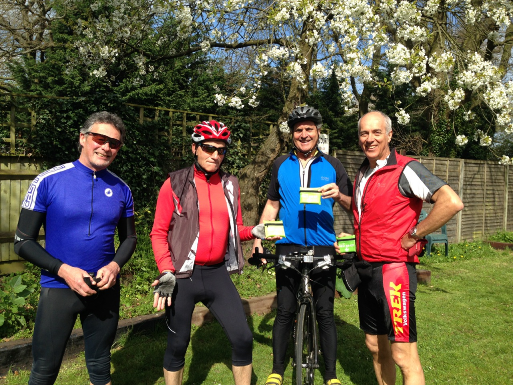 3 new ride leaders and Neil