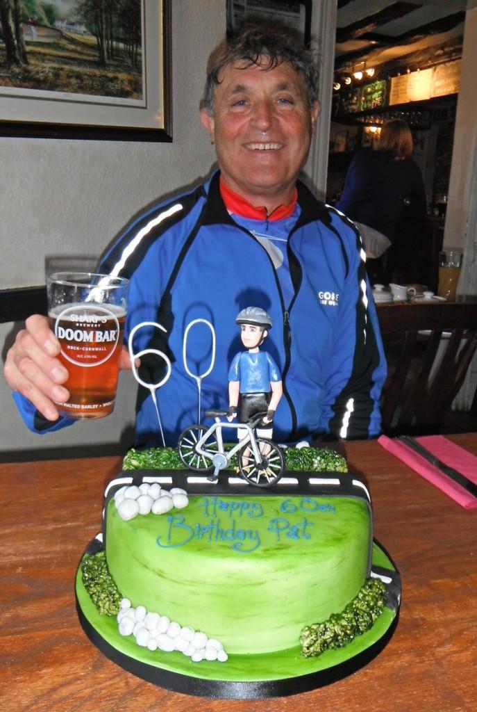 Pats 60th Birthday Cake