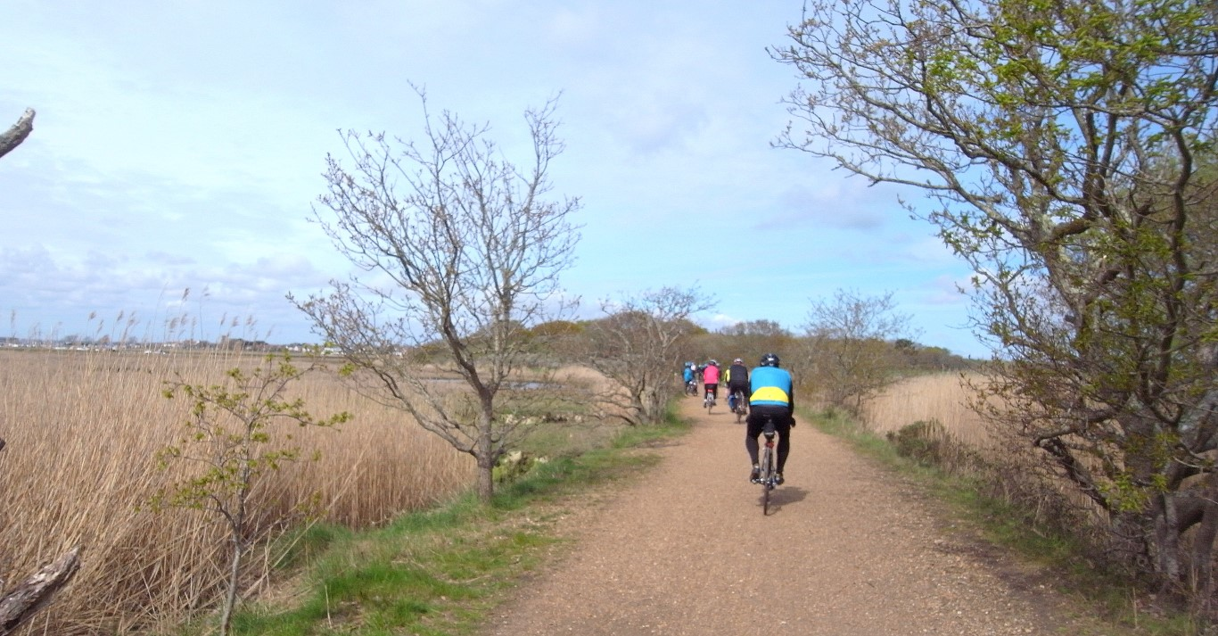 The Yarmouth - Freshwater cycle track